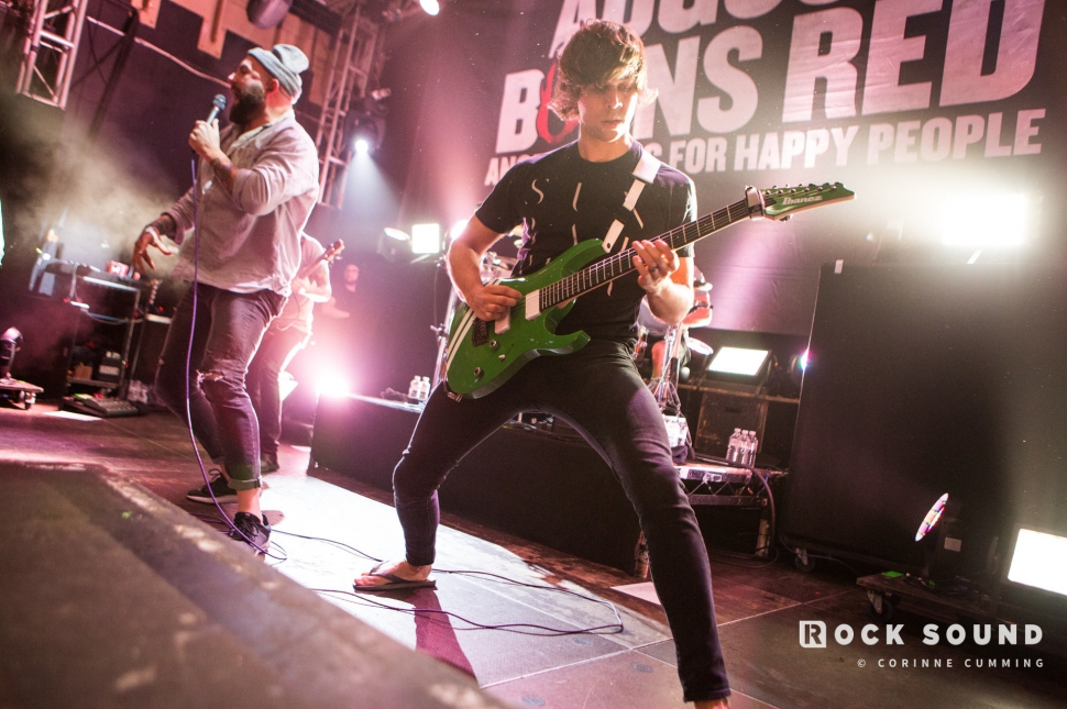 August Burns Red, O2 Islington, December 14 // Photo: Corinne Cumming