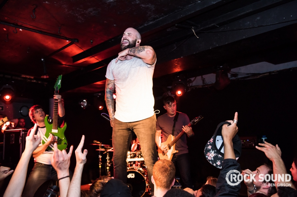 August Burns Red, London Underworld, July 28 // Photo: Ben Gibson
