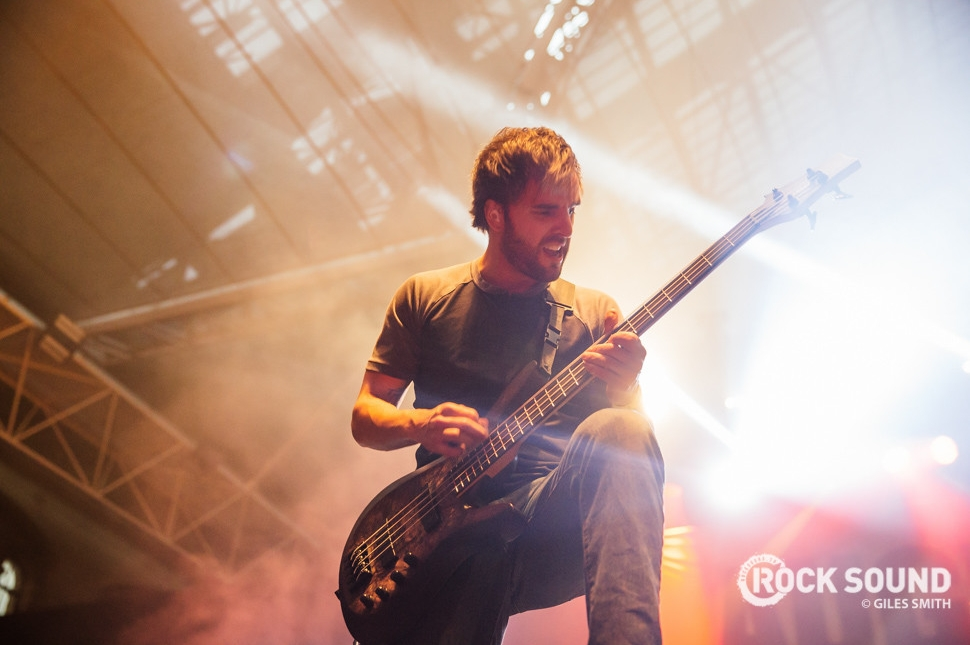 August Burns Red, Vans Warped Tour UK, October 18 // Photo credit: Giles Smith