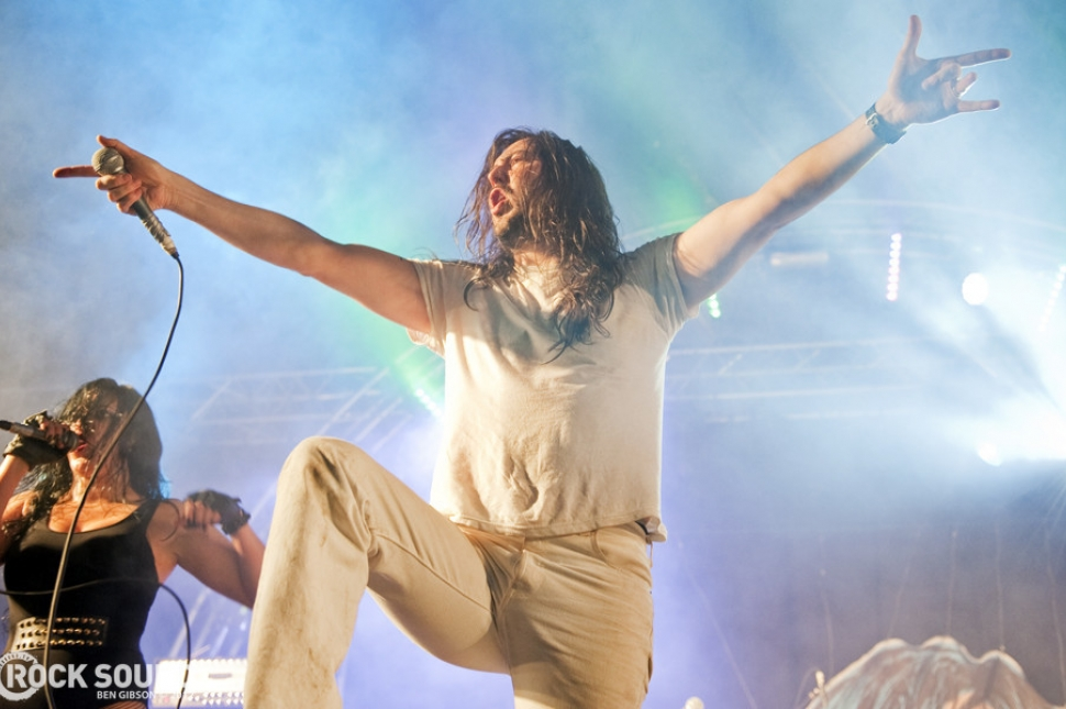 Hevy 2012 Live And Loud: Andrew WK