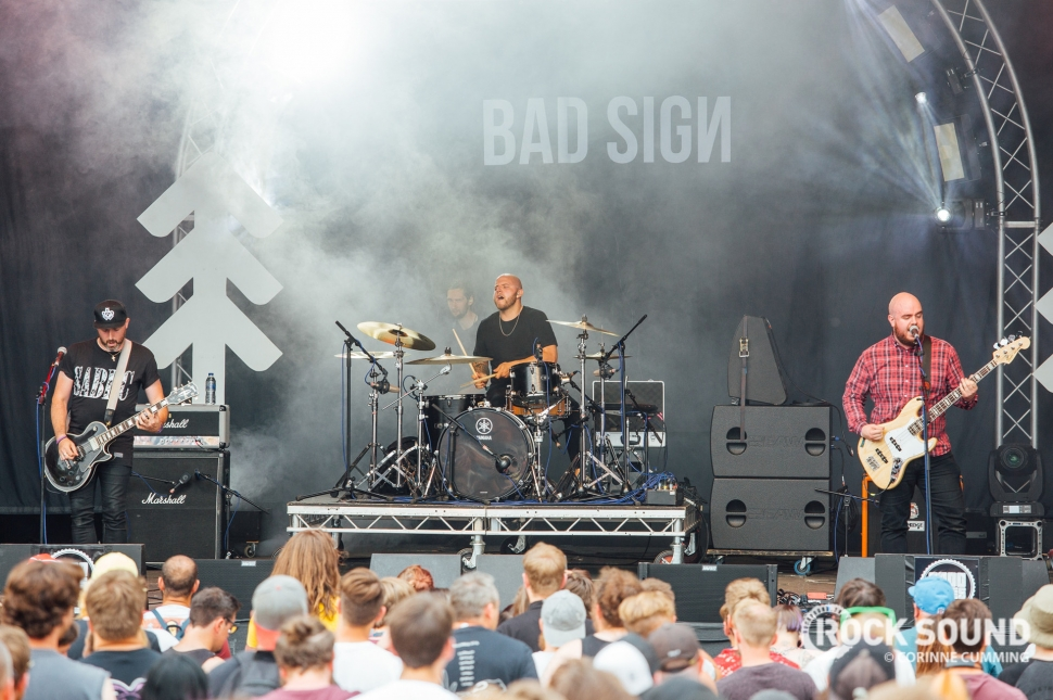 Bad Sign, 2000 Trees Festival, July 12 // Photo: Corinne Cumming