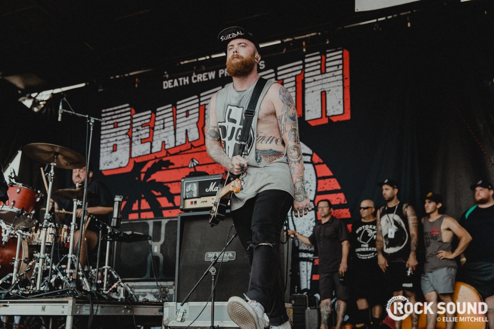 Beartooth, Vans Warped Tour 2017 // Photo: Ellie Mitchell