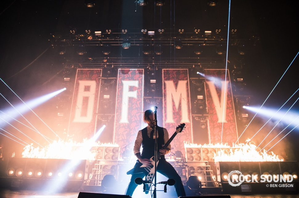 Bullet For My Valentine, London Brixton Academy, December 09 // Photo: Ben Gibson