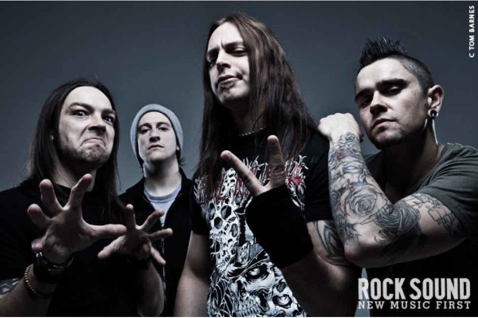 ... Exclusive Cover Gallery: Bullet For My Valentine