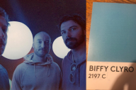 Biffy Clyro Are Sending Their Fans Postcards With A URL On Them…