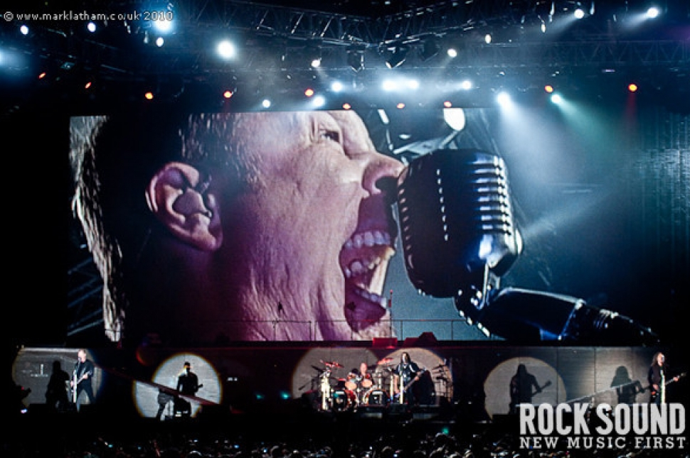 Best Photos Of 2010: The Big Four At Sonisphere