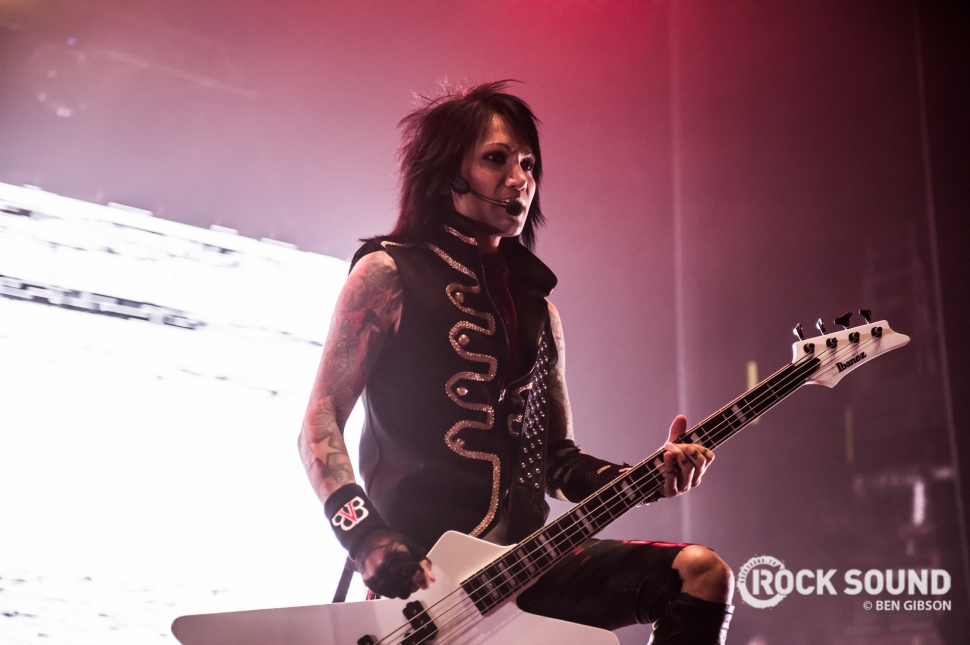 Black Veil Brides, London Brixton Academy, January 27 2018 // Photo: Ben Gibson