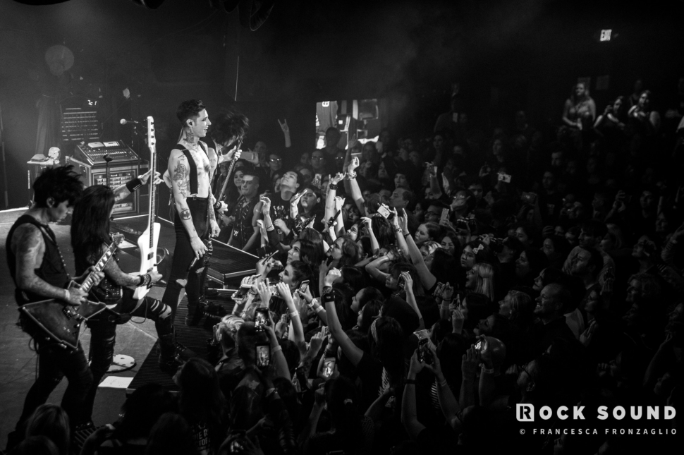 Black Veil Brides, The ROXY, Los Angeles, October 19 // Photo: Francesca Fronzaglio