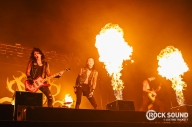 17 Photos Of Black Veil Brides Playing With Fire At Warped UK