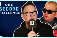 Blink-182's Mark Hoppus vs Matt Skiba - One Second Challenge