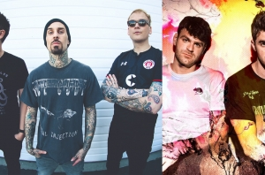 WATCH: Blink-182 Joined The Chainsmokers On Stage Last Night And Played A Brand New Song