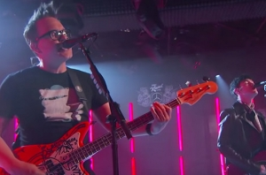 Watch Blink-182 Perform With Goody Grace On 'Jimmy Kimmel Live'