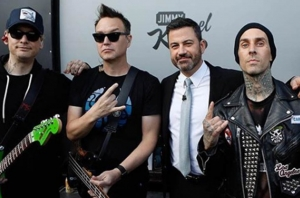 Watch Blink-182 Perform Their Classic Hits On 'Jimmy Kimmel Live'