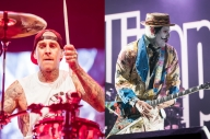 Blink-182's Travis Barker And Limp Bizkit's Wes Borland Are Working Together