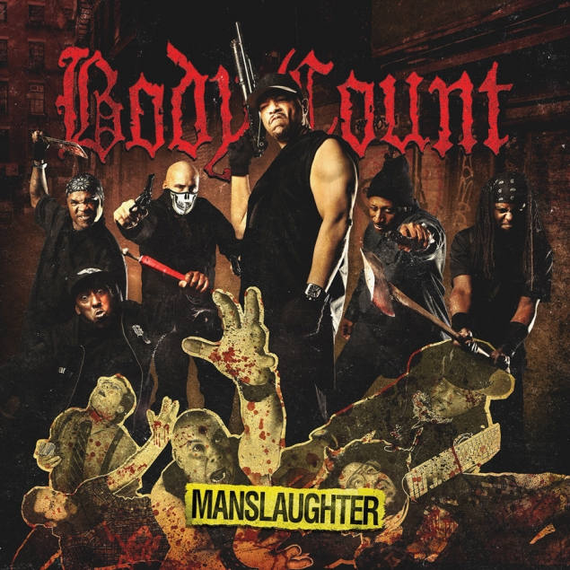 Body Count - Manslaughter Cover