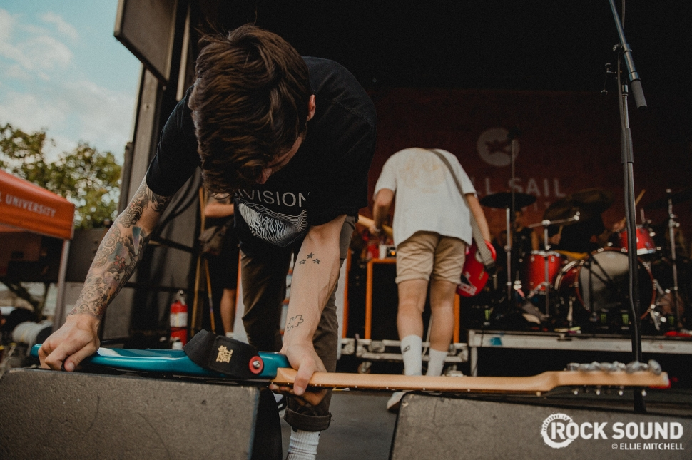 Boston Manor, Vans Warped Tour 2017 // Photo: Ellie Mitchell