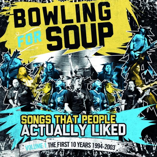 Bowling For Soup - Songs That People Actually Liked Vol.1 Cover