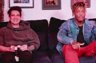 Watch Brendon Urie Chat With 'Roses' Collaborators Juice Wrld & Benny Blanco