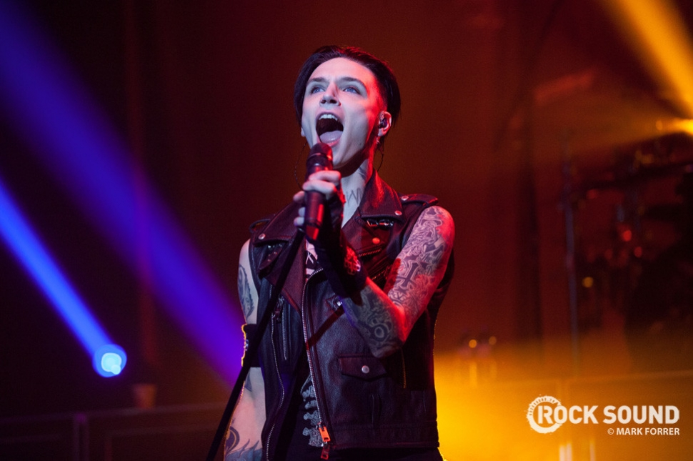 Back in the UK, and Black Veil Brides brought The Black Mass Tour to Manchester...
