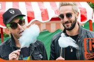 All Time Low, Waterparks & More Learn How To Make Cotton Candy - Festival Funfair
