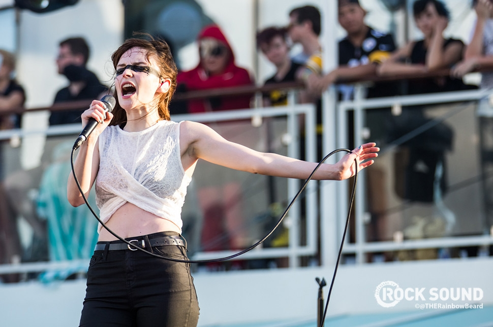CHVRCHES, Parahoy!, March 2016 // Photo credit: Adam James Reiter / THERainbowBeard