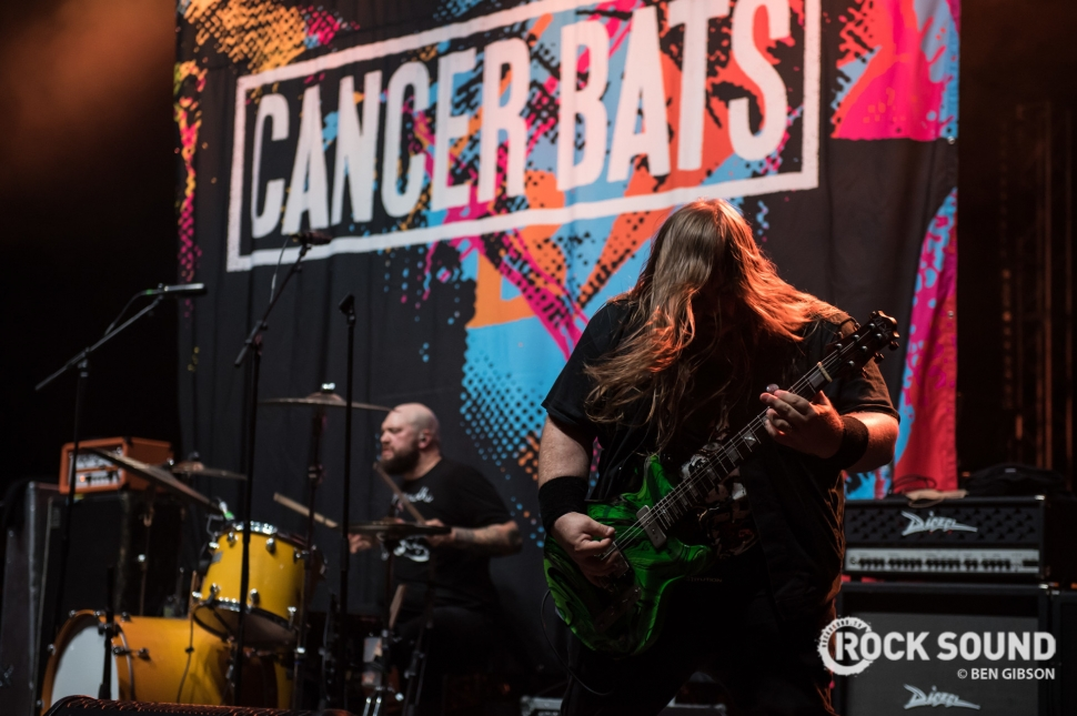 Cancer Bats, London Brixton Academy, June 12 // Photo: Ben Gibson