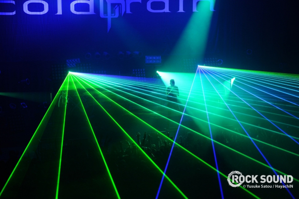 ...then shot lasers everywhere. Why? Because lasers.
