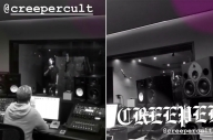 Creeper Are In The Studio With John Feldmann + Blink-182's Travis Barker
