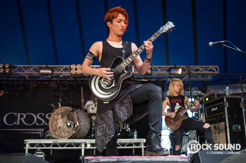 Crossfaith, Reading Festival 2016, August 26 // Photo credit: Corinne Cumming