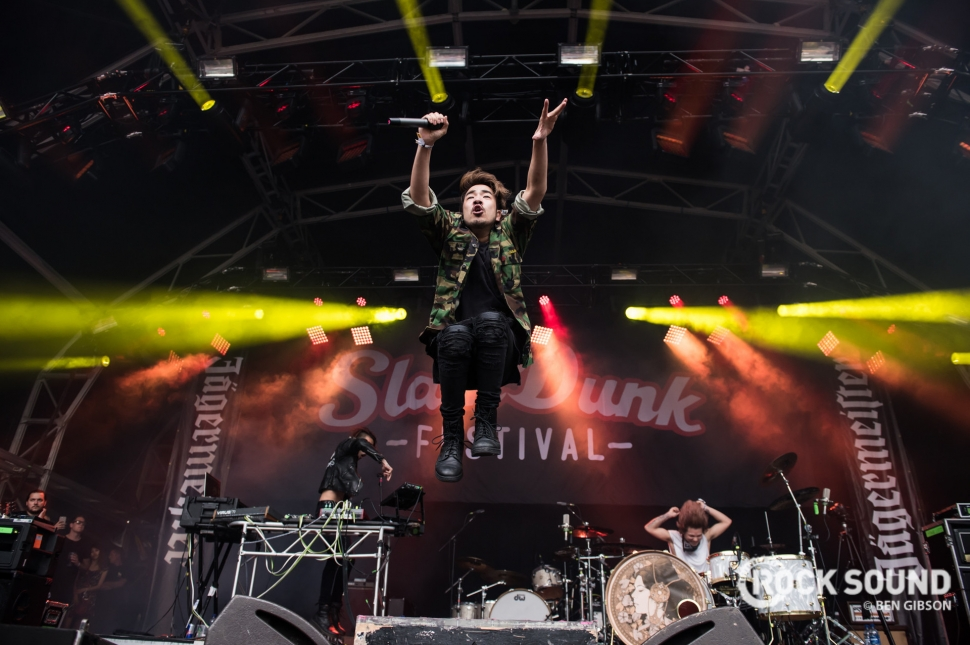 Crossfaith, Slam Dunk South 2017, May 29 // Photo: Ben Gibson