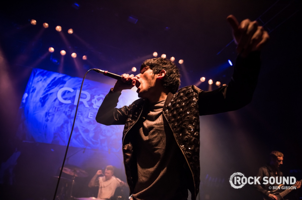 Crown The Empire, London Shepherds Bush Empire, December 13 // Photo: Ben Gibson