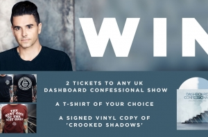 WIN: Tickets To Dashboard Confessional's UK Tour + An Exclusive Merch Pack