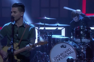 Watch Dashboard Confessional Perform 'We Fight' On Conan