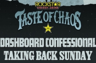 Dashboard Confessional + Taking Back Sunday Are Playing Taste Of Chaos