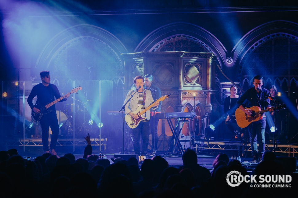Deaf Havana, London Union Chapel, February 23, 2018 // Photo credit: Corinne Cumming