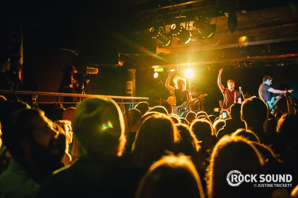 Deaf Havana, London Underworld, December 11 // Photo credit: Justine Trickett