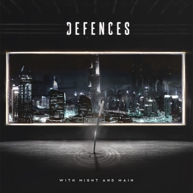 Defences - 'With Might And Main' Cover