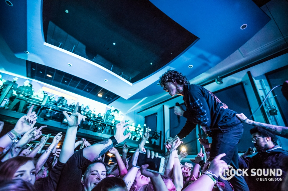 Don Broco, London ULU, February 02, 2018 // Photo: Ben Gibson