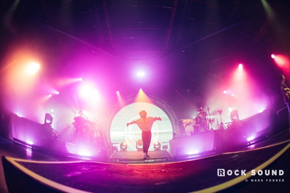 Don Broco,  O2 Victoria Warehouse Manchester, February 02 // Photo: Mark Forrer