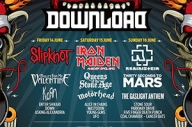 Download Festival 2013 Stage Times