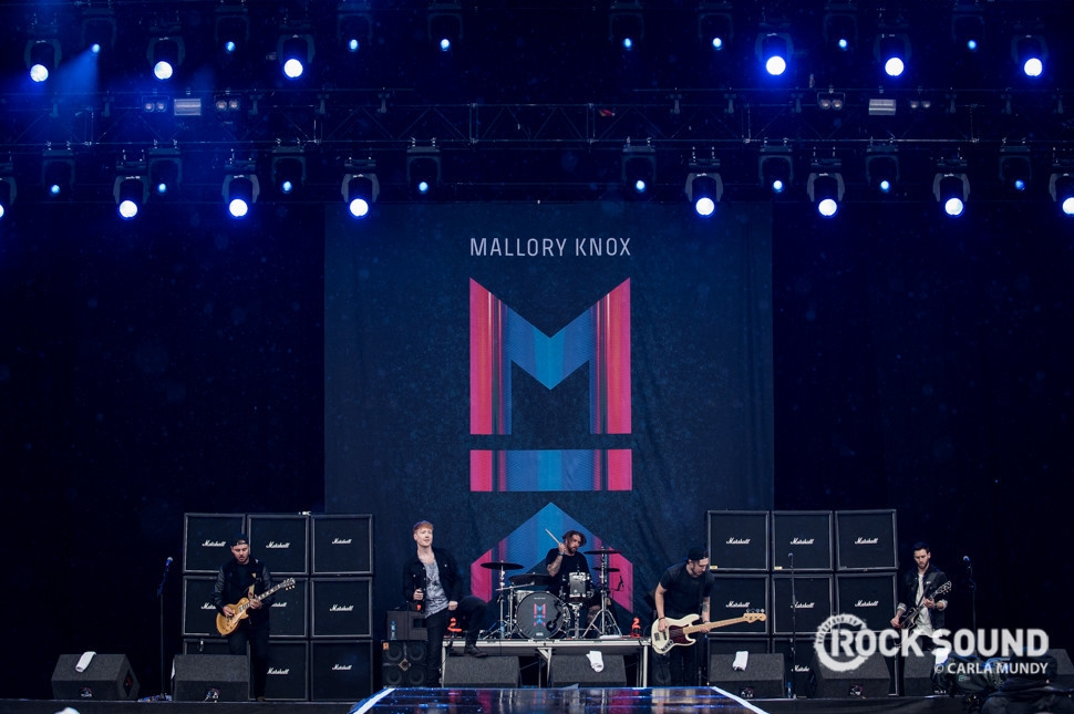 Mallory Knox, Download Festival, June 13 // Photo credit: Carla Mundy