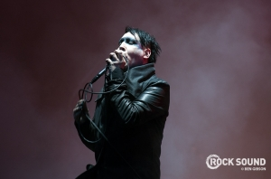 Marilyn Manson Has Posted An Update On His New Album