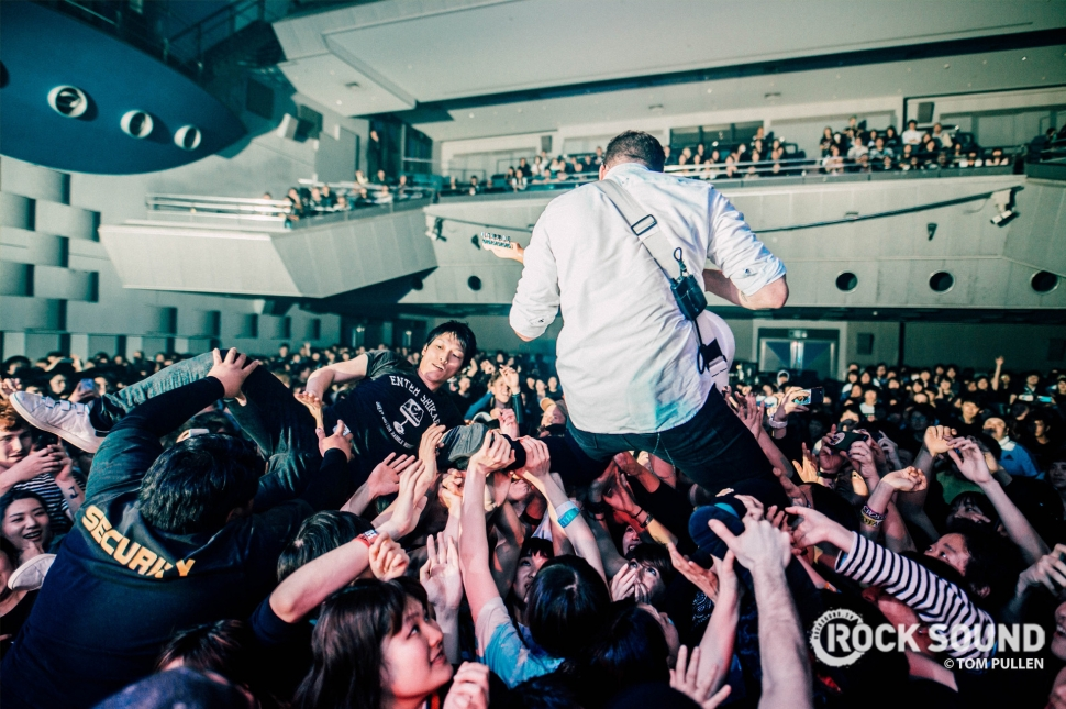 Enter Shikari, Japan Tour, April, 2018 // Photo: Tom Pullen