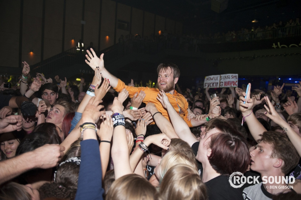 Oh, and if you're wondering what happened to Hatfield in June, Enter Shikari wiped it clean off the map.