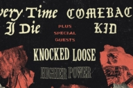 Every Time I Die, Comeback Kid And Knocked Loose Have Announced A Tour