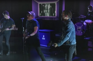 Watch Fall Out Boy Perform 'HOLD ME TIGHT OR DON'T' On The Late Show