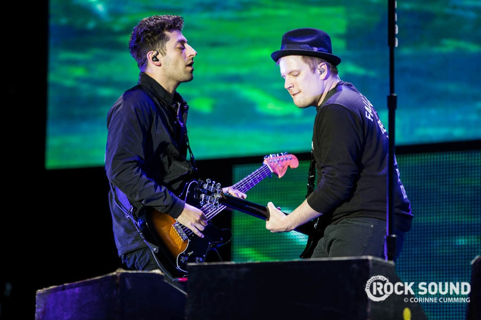 Fall Out Boy, Reading Festival 2016, August 28 // Photo credit: Corinne Cumming
