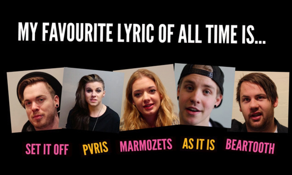 My Favourite Lyric Of All Time Is… - Features - Rock Sound