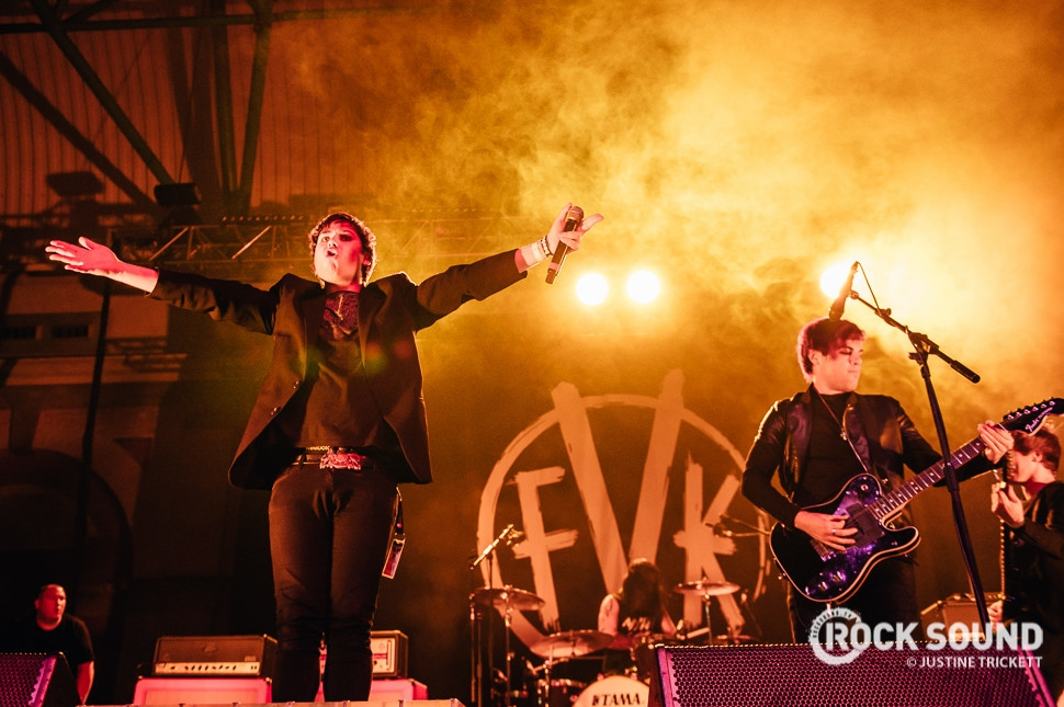 Fearless Vampire Killers, Vans Warped Tour UK, October 18 // Photo credit: Justine Trickett
