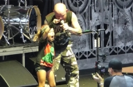 Five Finger Death Punch Invite Kid Onstage To Sing, She Nails It